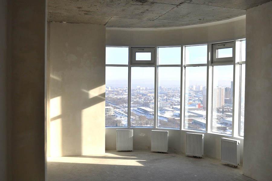 Эркерная конструкция окна